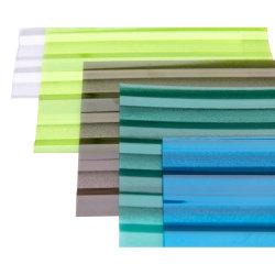 Сучжоу Nilin оформление склад ПК лист твердых гофрированный лист из поликарбоната для продажи