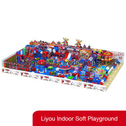 O parque de diversões de qualidade super especializado playground coberto para venda de equipamento