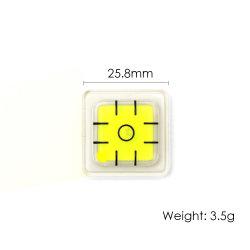 Mini-koepel voor kleine waterpas met Spirit Level-vial
