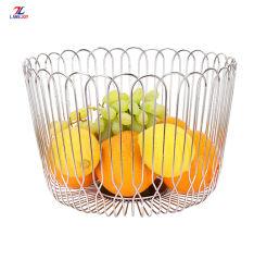 Cestino di frutta decorativo del collegare per la cucina con le verdure del pane