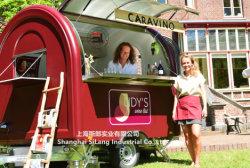 이동할 수 있는 간이 식품 트레일러, 핫도그 트럭 이동할 수 있는 음식 손수레의 중국 직업적인 제조자