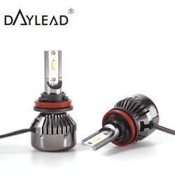 2021 年の工場価格の高いルーメンのライト 6000lm の車のヘッドライト LED ヘッドランプ H4 H7
