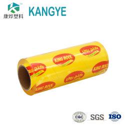 China Venta caliente fresco de alta calidad mejor película de plástico PVC/PE Food Grade se aferran Film Stretch film de protección