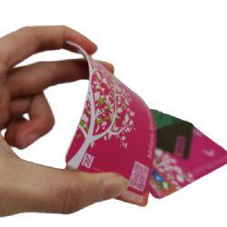 習慣NTAG213 NTAG216 NFCプラスチックビジネスRFIDスマートカード