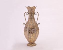 Luxury Gold vaso de flores de cores metálicas decoração doméstica