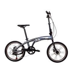 Дешевые углерода в современном стиле Ultralight складной велосипед 20 дюйма оптовой взрослых черный открытый велосипед складной складной велосипед