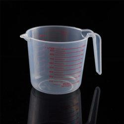 다중목적 액체를 측정하는 1000ml는 사용 플라스틱 측정 컵을 말린다