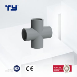 ASTM Sch80 CPVC PVC بلاستيكي Pn16 وتركيبة أنبوب عالية الضغط التوصيل السريع للمياه الساخنة والباردة