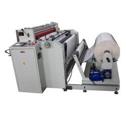 Пластиковый PE PP ПЭТ OPP ПВХ пленки рулона бумаги для резки листов машина с функцией нарезки