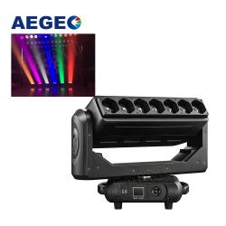 7X40W LED Wash LED Zoom RGBW Stage Lighting Equipment Pixel Verlichting LED-balk bewegende kop