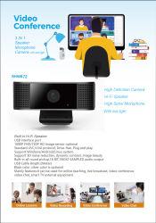 Caméra PC avec Microphone avec haut-parleur avec voyant Hi-fi