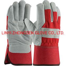 Het eerste Lassen van de Laag Gloves Producten van de Bescherming van de Arbeid van de Bescherming van de Weerstand van de Slijtage van de Handschoenen van de Lasser van LUF van de Zweep de Volledige Dikke