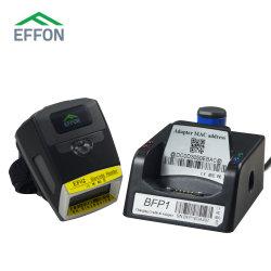 2D ANNEAU Bluetooth Barcode Scanner Scanner portable Effon IP65 pour le mobilier de l'industrie automobile