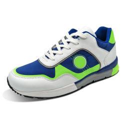Zapatos de skate de Hombres de corte bajo la parte delantera de encaje hasta para vestir de estilo de zapatillas zapatos casual superior PU negro