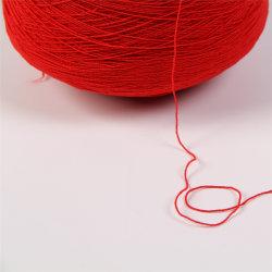 Goma de poliéster DTY Spandex tejer calcetines de hilo elástico alto cubierto