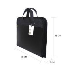 Moda de plástico preto UM4 Piscina durável de viagens de negócios Saco de Arquivo