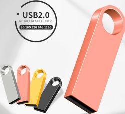 Mini-Metal Stick USB 128 MB Dados Restaurar formato FAT32 UDP Velocidade 2.0 Boa qualidade de 32GB, 64GB