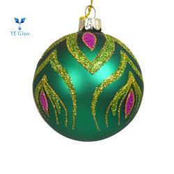 بالجملة يزيّن عيد ميلاد المسيح زجاجيّة غنيّ بالألوان عيد ميلاد المسيح كرة