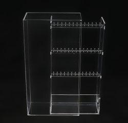 Creative Caixa de acrílico brinco tabuleiro de jóias Impermeável e à prova de pó de bijutaria Exibir Jóias Comercial Exibir