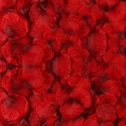 Silk Rose blüht Blumenblätter für Hochzeits-Dekoration