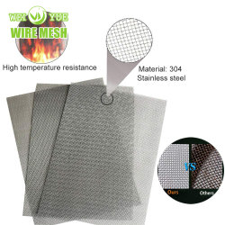 Alambre de acero inoxidable de alta calidad de la red de malla/chalecos