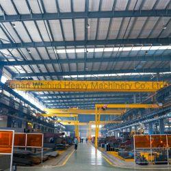 Modelo Weihua NLH modelo europeu padrão elevador de duas vigas elétrico em altura Guindaste de ponte