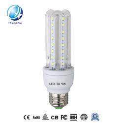 U Fabricação a luz da lâmpada de lâmpadas economizadoras de energia da China Factory