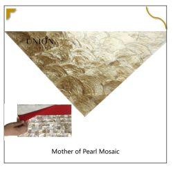 Peel and Stick natürliche Perlmutt Mop Shell Mosaik Fliesen für Küche Backsplash oder Badezimmer Wal
