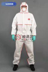 Fabrik Industriebedarf Schutz Overall Isolation Sicherheit Einweg-Isolation Schutz Kleidung Nicht Gewobene Naht Bedeckt