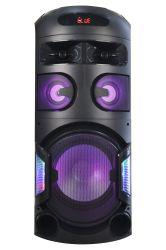 다기능 PA 고전력 싱글 12인치 PRO 오디오 전문가 무선 휴대용 Bluetooth 트롤리 파티 PA 스피커 LED 조명 ED-1203