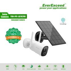 ワイヤレス屋外 CCTV セキュリティカメラ充電式バッテリー式 WiFi 監視 IP カメラ Everexceed ホームセキュリティカメラ、ナイトビジョン、双方向オーディオ