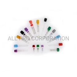 الزجاج المكنسة الكهربائية الحيوانات الأليفة Plain Gel Clot Activator ESR PT الليثيوم هيبارين هيبارين سيترات EDTA اختبار حمض نووي مضاد التخثر الميكروي مصل الدم جمع الأنبوب
