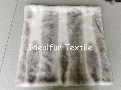 Mink Eco Fur con funda de cojín impresa