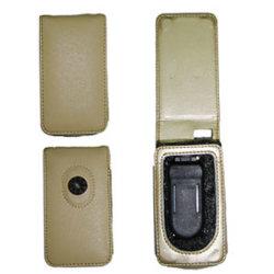 Housse en cuir pour iPod (IC-007)