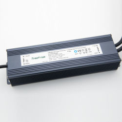 Atenuación del Triac LED impermeable transformador de 360W 12V 24V DC fuente de alimentación