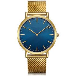 رفاهية متأخّر [مينيمليست] بسيطة فريد رجال مبتكر امتلكت [أم] عالة جديدة تصميم ساعة