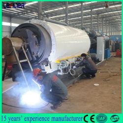 2-5톤 열분해 플라스틱/타이어 폐기물 재활용 공장