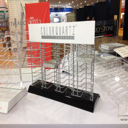 Rack de metal com fio personalizado para 25 x 25 cm, com ecrã cerâmico de quartzo Suporte