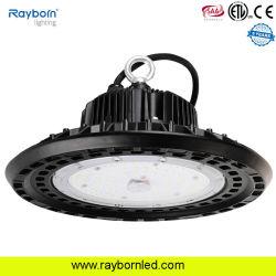 도매 가격 UFO LED 하이 베이 라이트 100W 120W 150W 200W 250W 300W 산업 워크숍 창고 공장 LED 하이베이 CE ETL SAA 조명