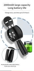 Ds888 Altavoces Inalámbricos Bluetooth USB Micrófono Lavalier micrófonos de mano de Karaoke