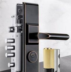 Цинкового сплава Villadom ручки двери замок двери, для защиты от краж, для вступления стальные металлические двери.