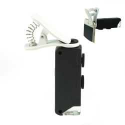 مكبر صغير الحجم محمول صغير الحجم تكبير/تصغير بتقنية تكبير/تصغير جيب LED بحجم 60-100x
