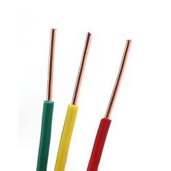 H07V-U 450/750V al desnudo de cobre sólido cable de luz LED