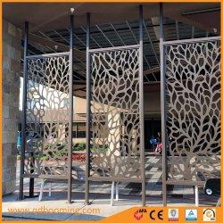 Commerce de gros du métal chaud découpées au laser pour la conception des écrans décoratif de jardin