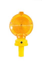 Indicatore luminoso d'avvertimento di traffico della lampada della barriera della strada di 2 PCS LED (S-1328A)
