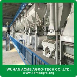 販売のための機械装置の完全セットの米製造所を処理する自動結合された米製造所の米