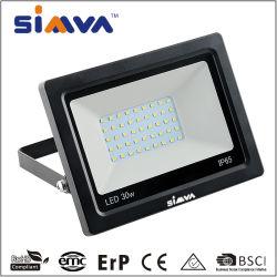 IP65 LED 플러드 라이트 방수 2100lm의 30W LED 후광 (140W와 동일) 실외 3000-6500K Floodlight용 Linear Driver Flood Light(CE 포함)