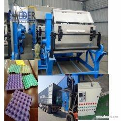 Faser-Massen-genehmigte der formenproduktionszweig, zum des Ei-Tellersegment-Cers zu produzieren den verwendeten Papiermassen-geformten Ei-Karton/Ei-Tellersegment, die Maschine bilden