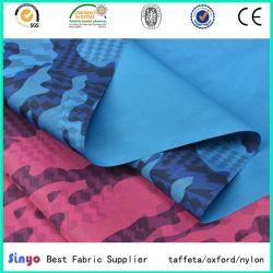 PU/Oxford enduit de PVC 600d tissu de polyester imprimé personnalisé avec Wateproof