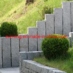 G654/G603/G684/G682/gris/noir/rouge/jaune/bloc de basalte granit//galets/palissade /Drapeau/freiner/Curbstone de pavage pour l'aménagement paysager/Jardin